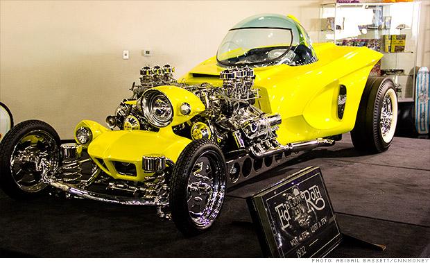 Ed 'Big Daddy' Roth's real-life cartoon cars