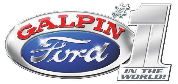 Galpin Ford #1 in the world logo