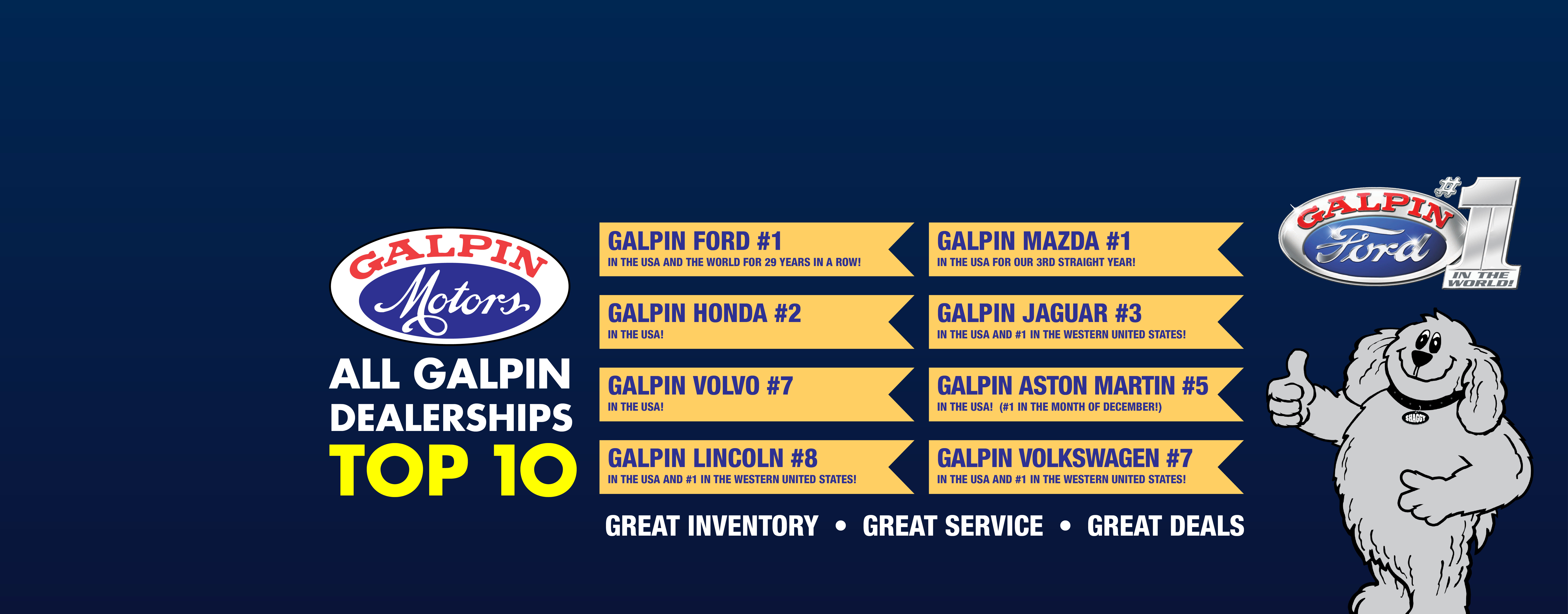 Galpin Motors: New & Used Car Dealerships Los Angeles, San