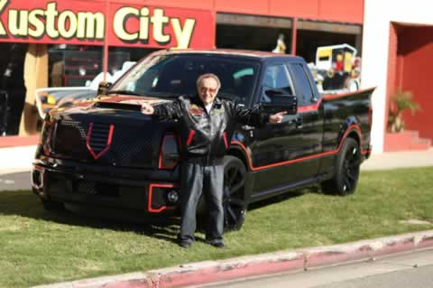 Ford-F-150-Batmobile