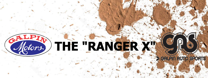 the ranger x galpin auto sports banner