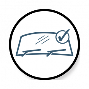 Windshield Repair Icon Image