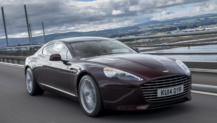 2015 aston martin rapide s: 200 mph, room for four