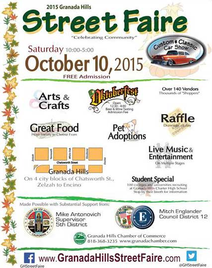 Galpin Ford Service >> Granada Hills Street Faire - October 10th