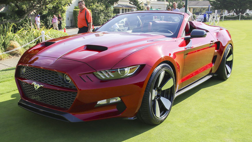 Ford Mustang Based Rocket Speedster Ready For Takeoff