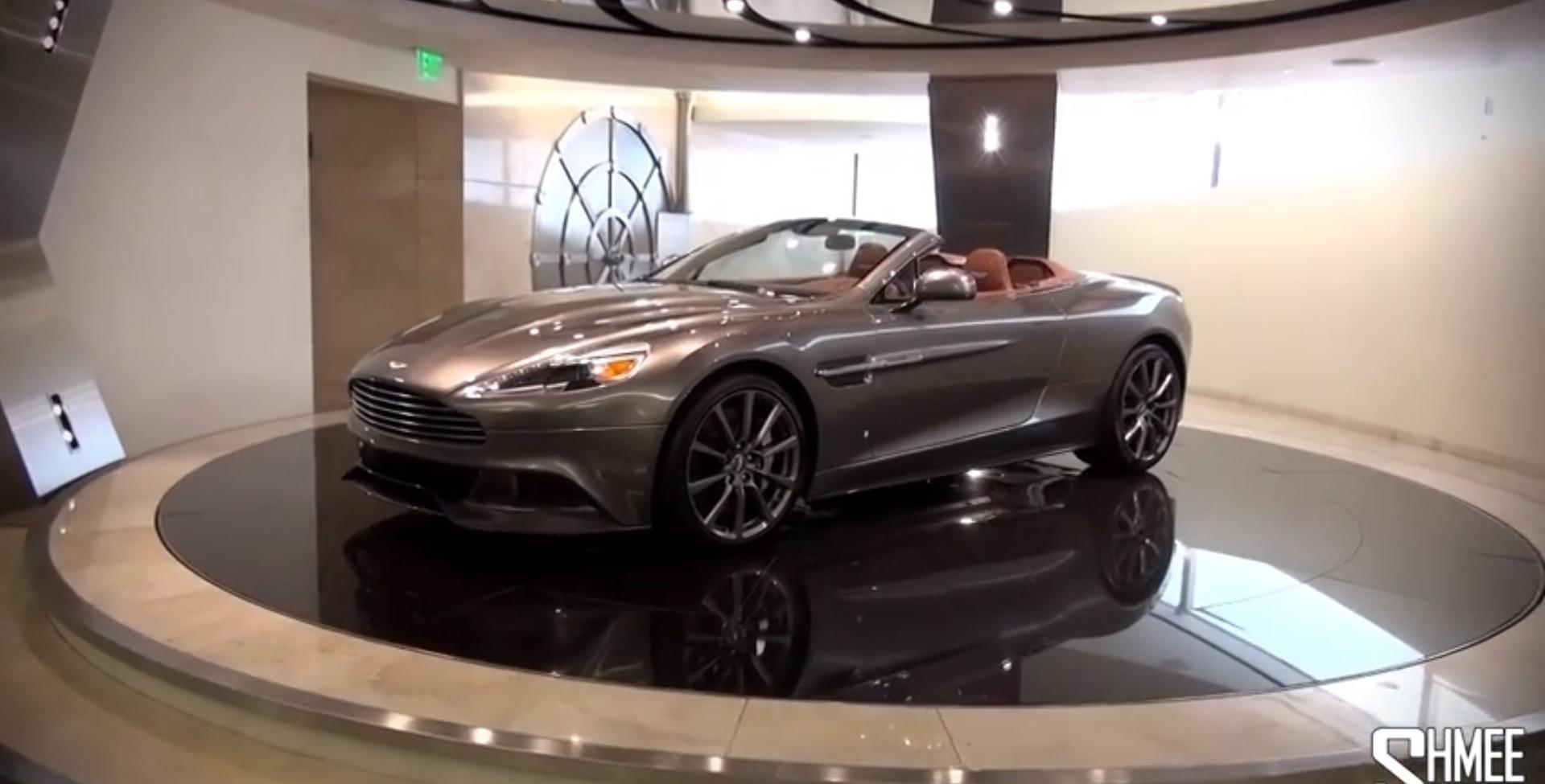 This Aston Martin Dealership Vault Is Very James Bond - Galpin aston martin inventory