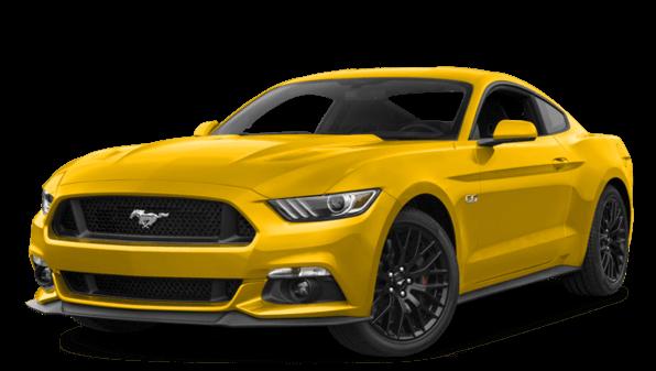 yellow mustang image