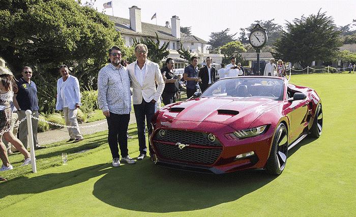 Henrik Fisker designs exotic convertible for Galpin