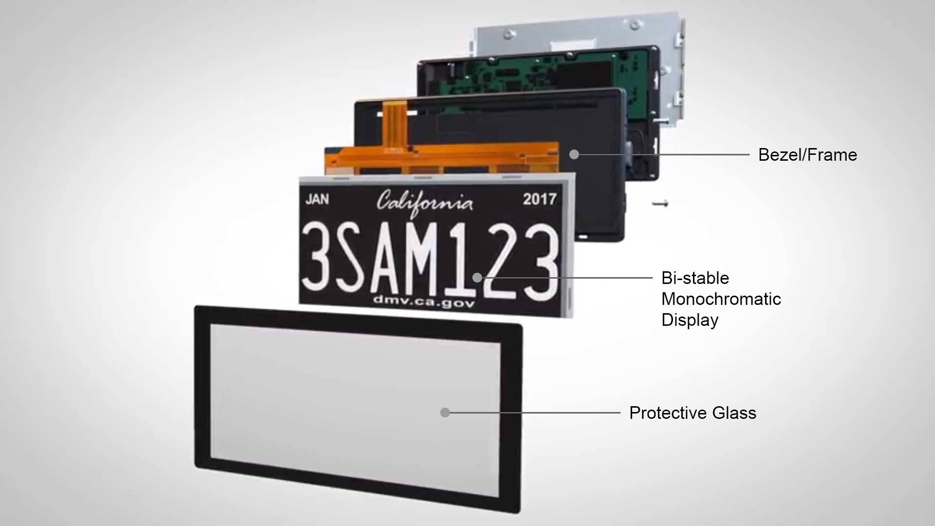 California Digital License Rplate Pro - Galpin Motors