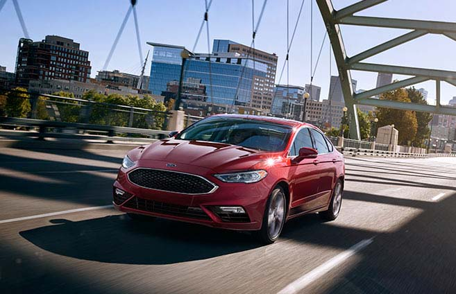 2017 Ford Fusion Los Angeles