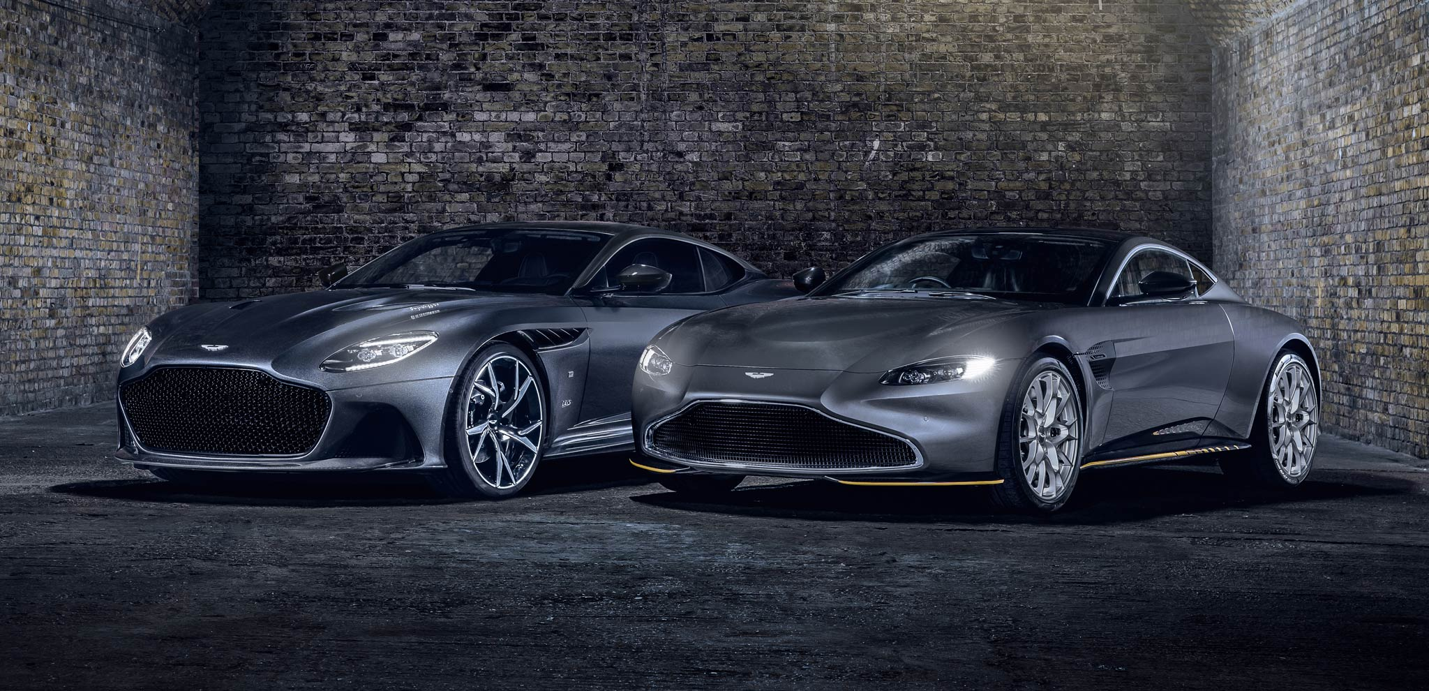 Aston Martin 007 Vantage and 007 Superleggera Special Editions
