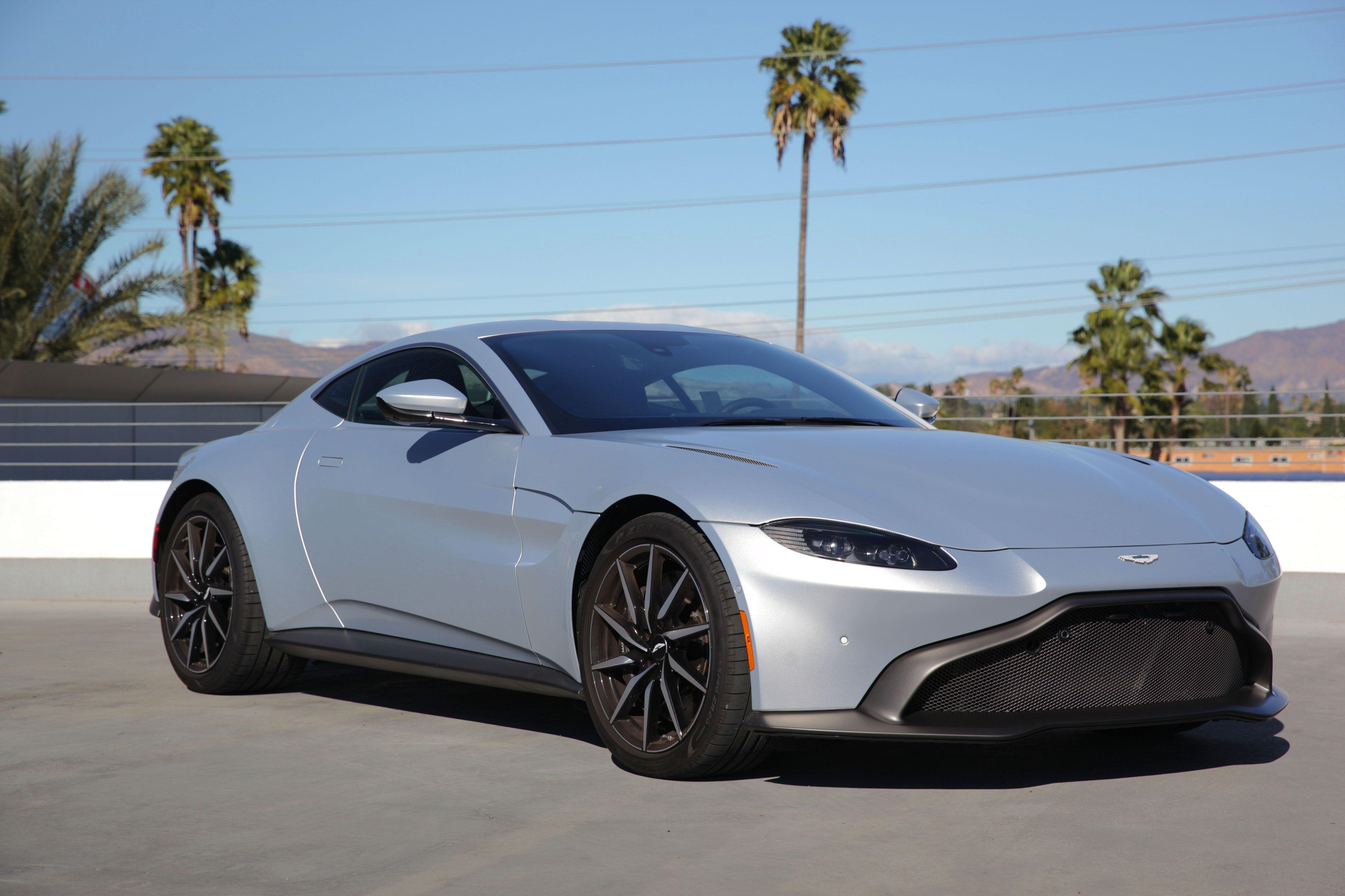 2020 GREY Aston Martin Vantage