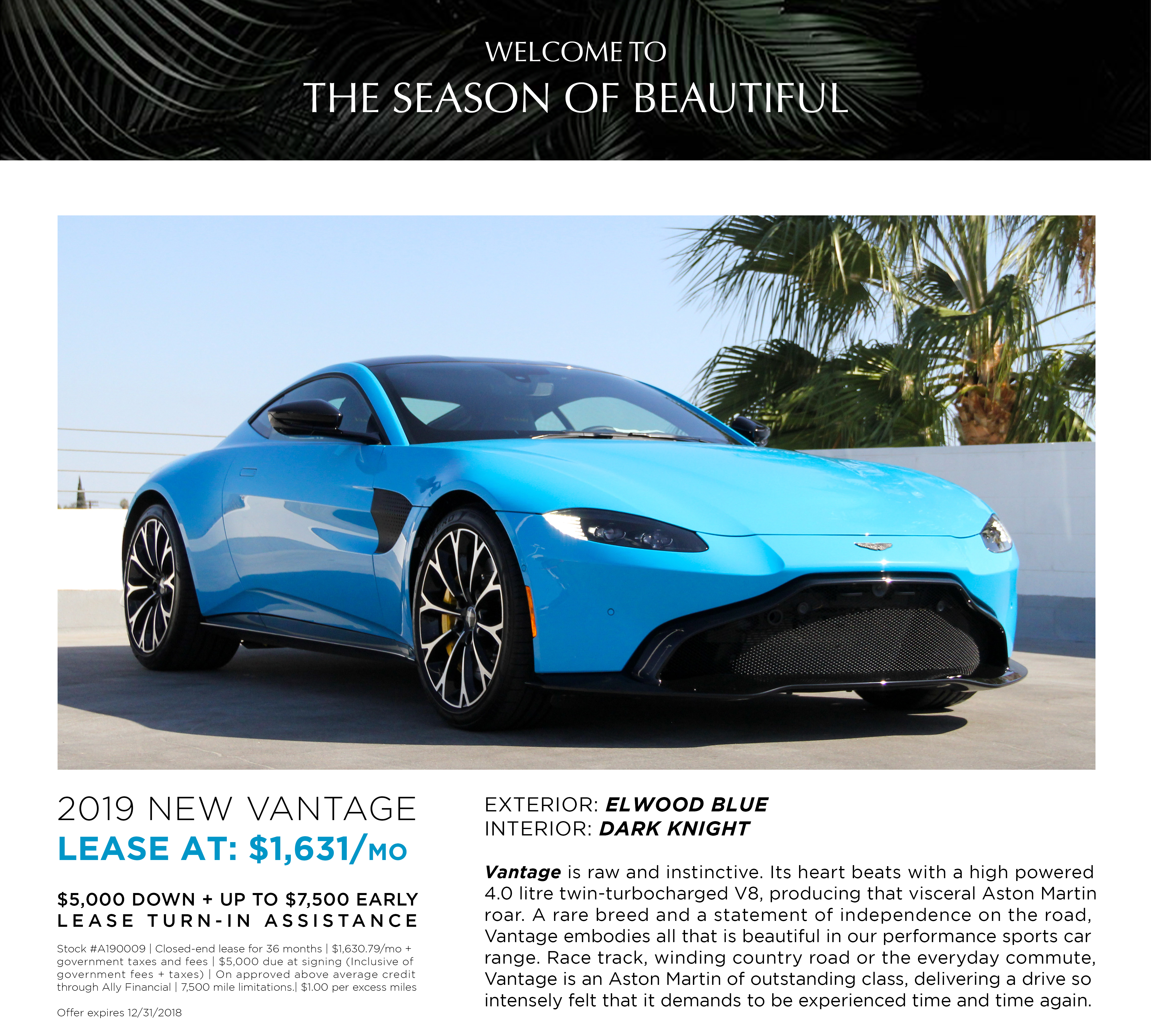 LEASE A190009 NEW VANTAGE