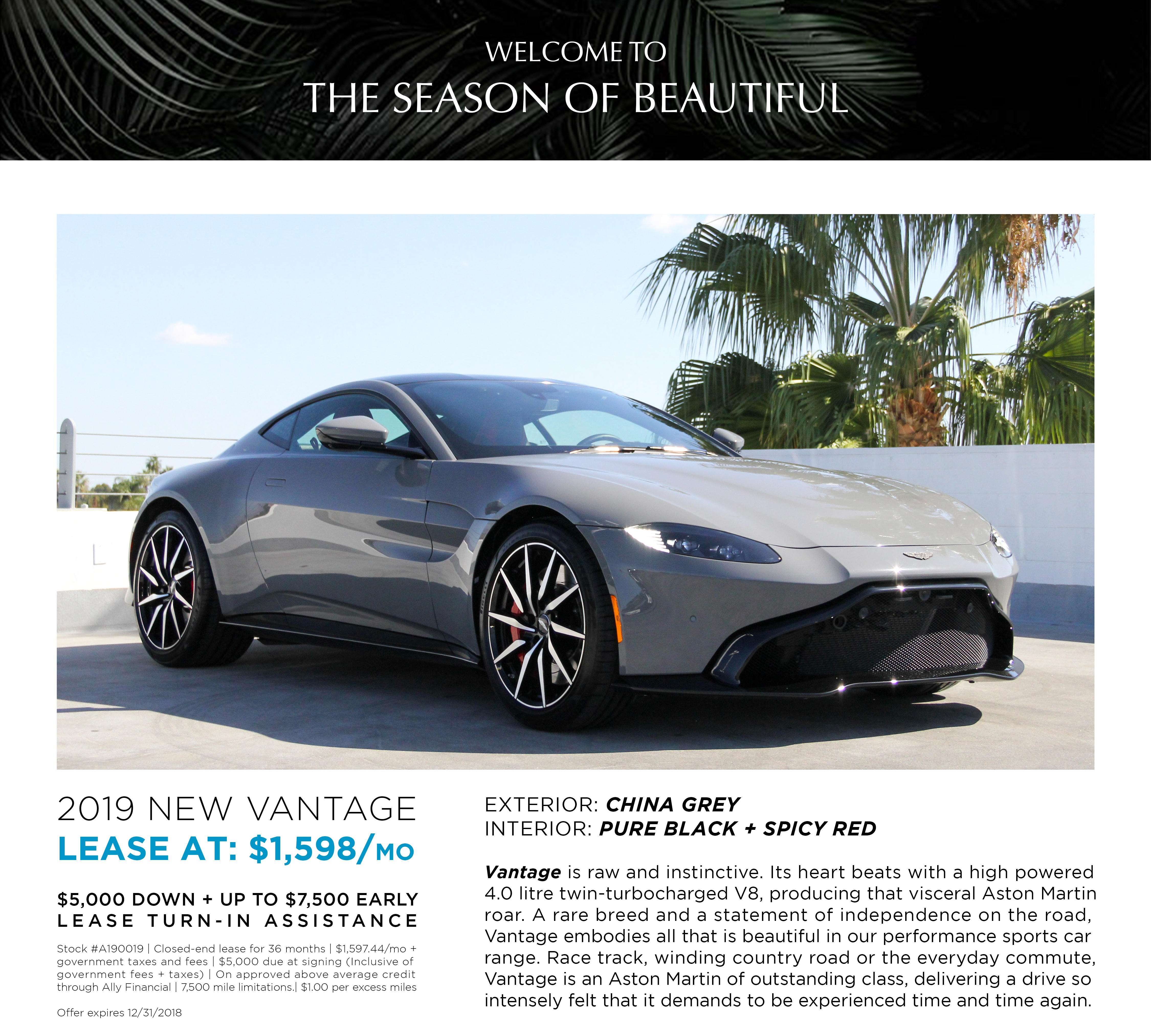 LEASE A190019 NEW VANTAGE
