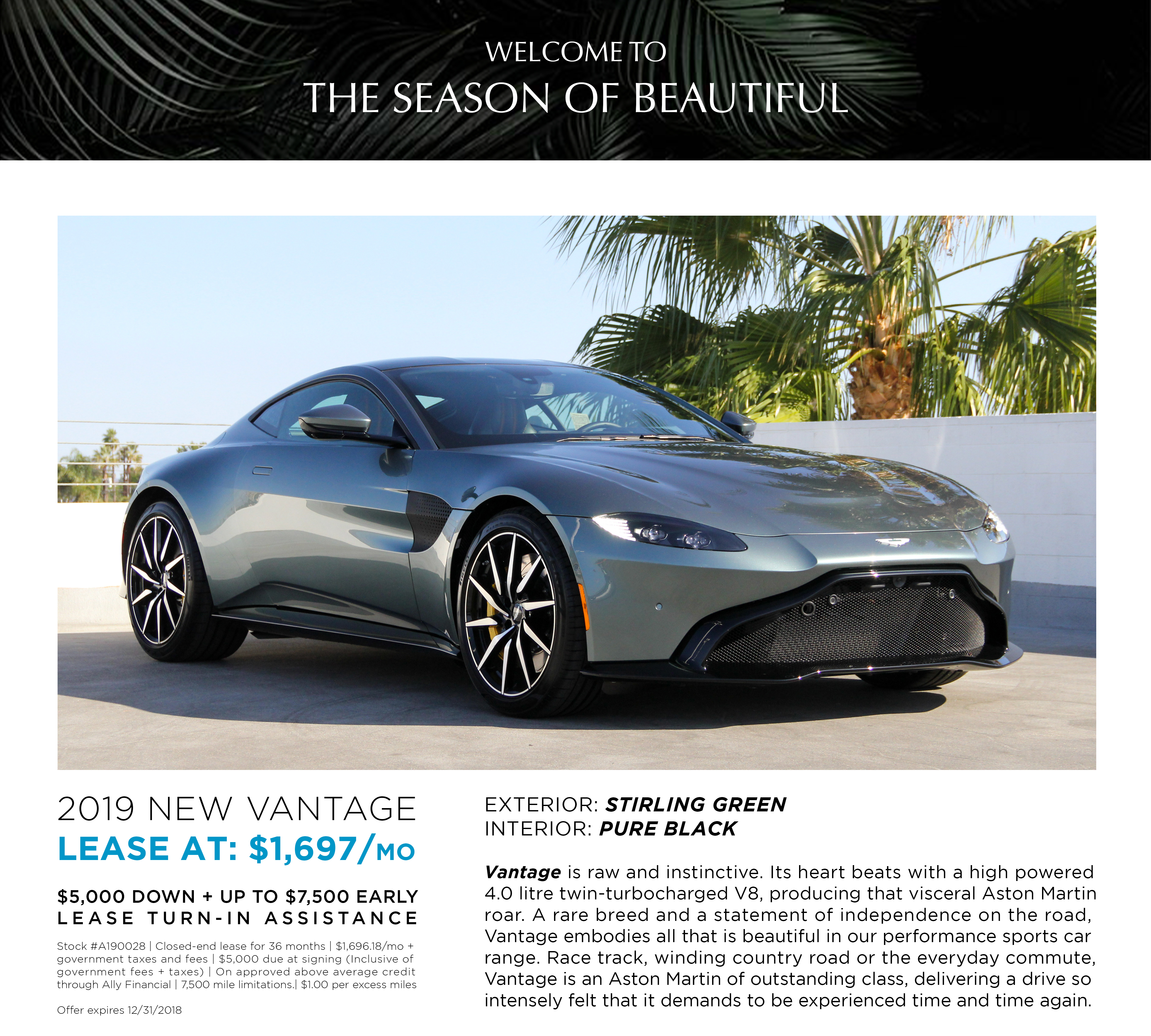 LEASE A190028 NEW VANTAGE