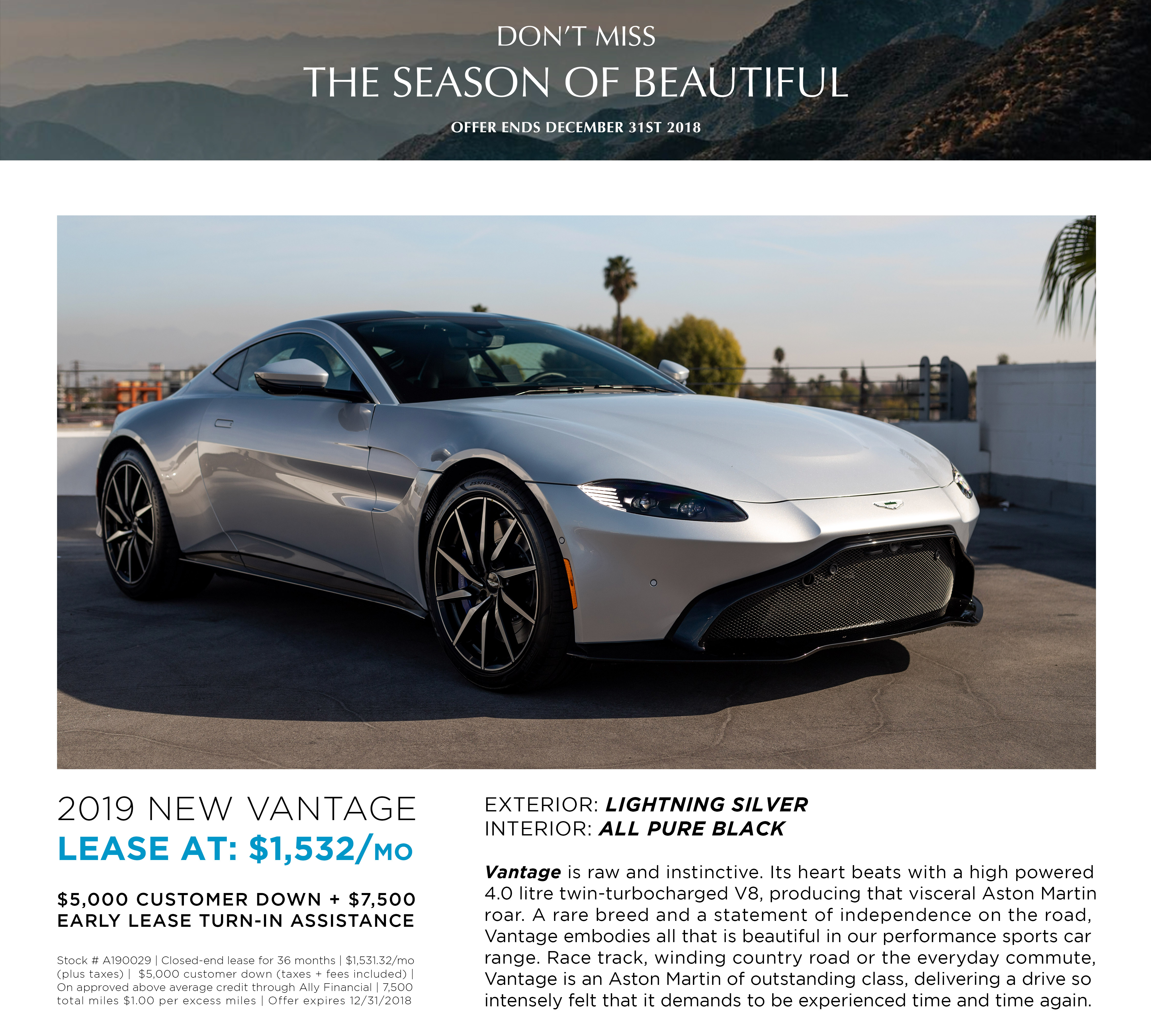 LEASE A190029 NEW VANTAGE