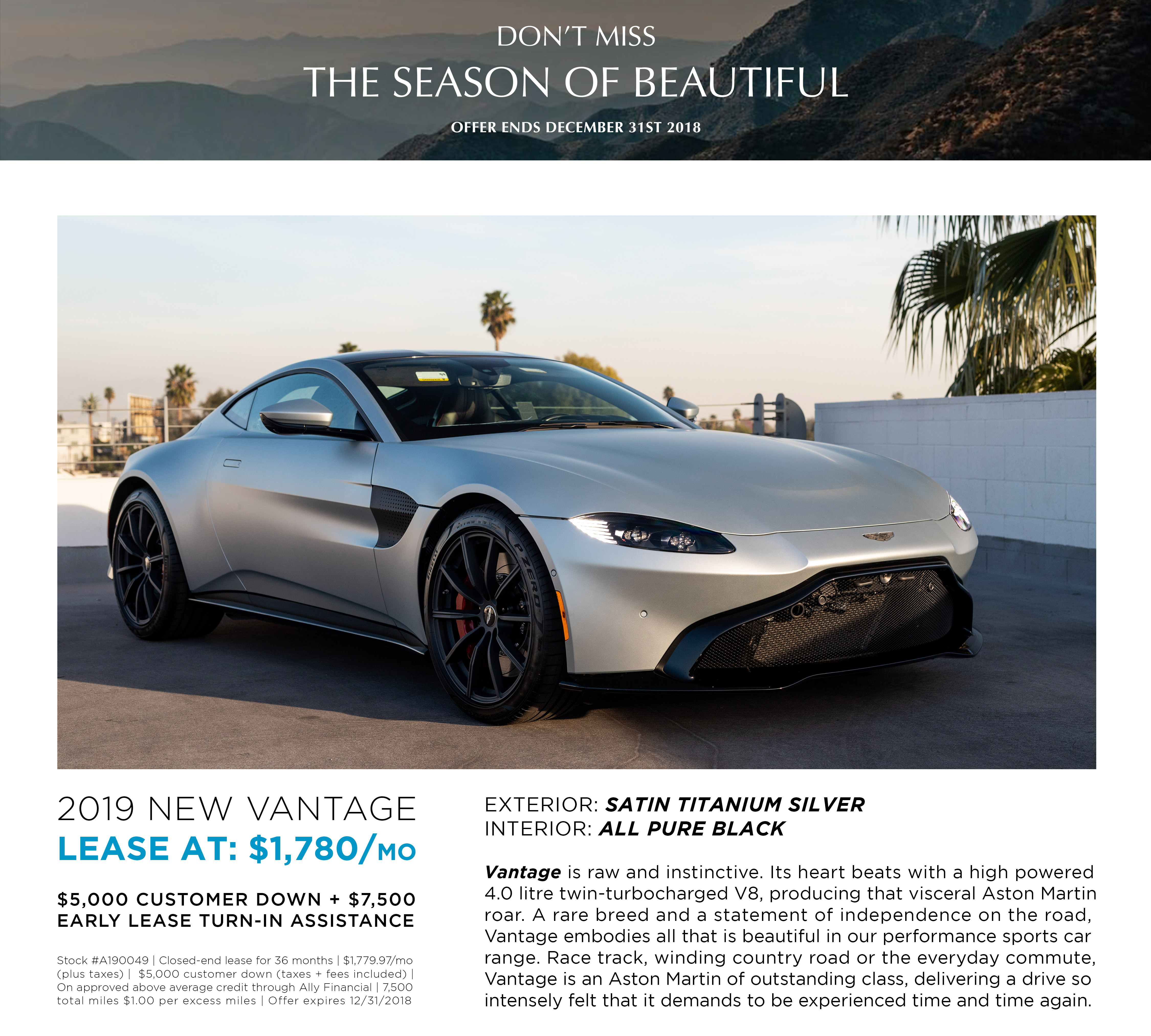 LEASE A190049 NEW VANTAGE
