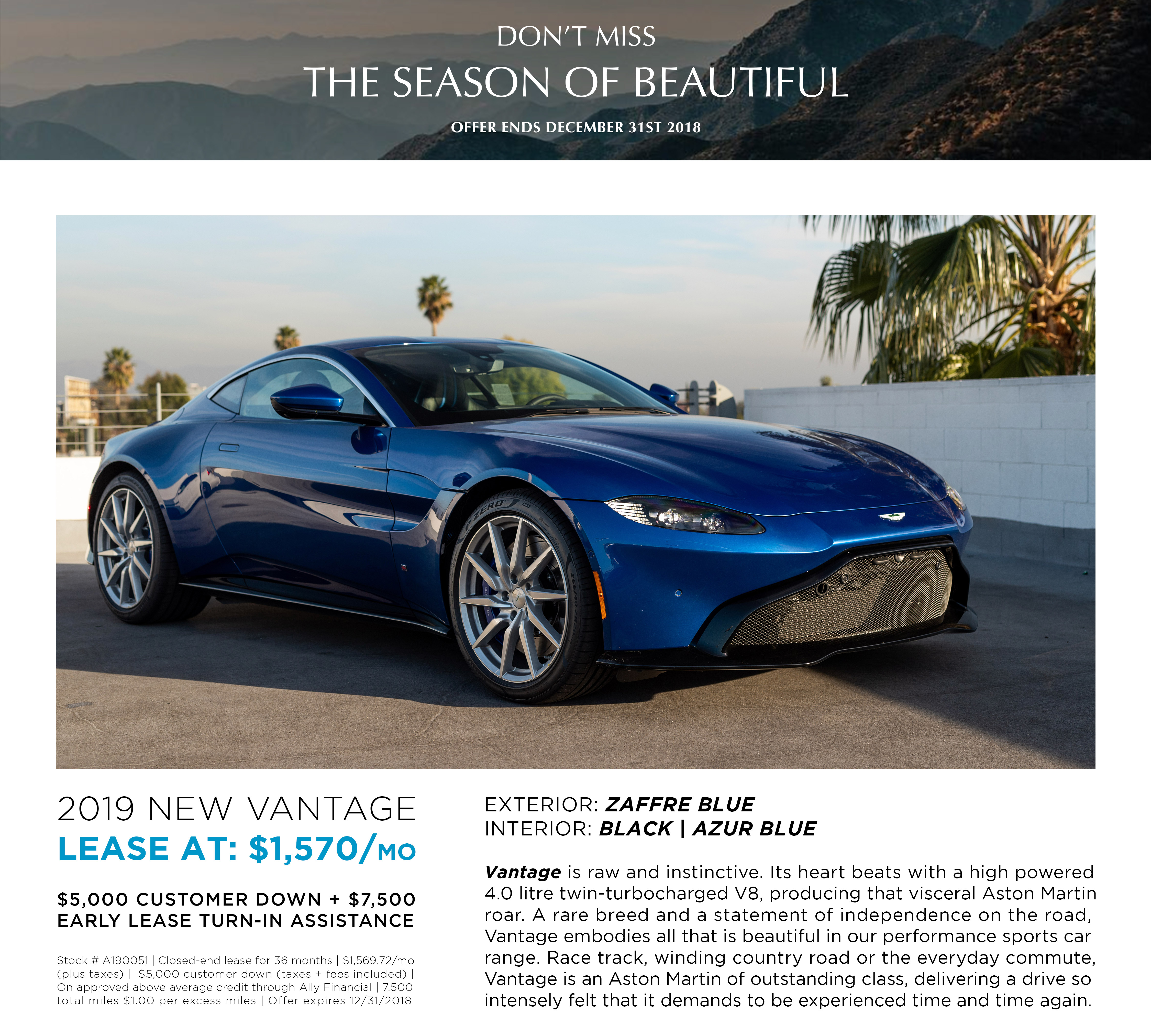 LEASE A190051 NEW VANTAGE