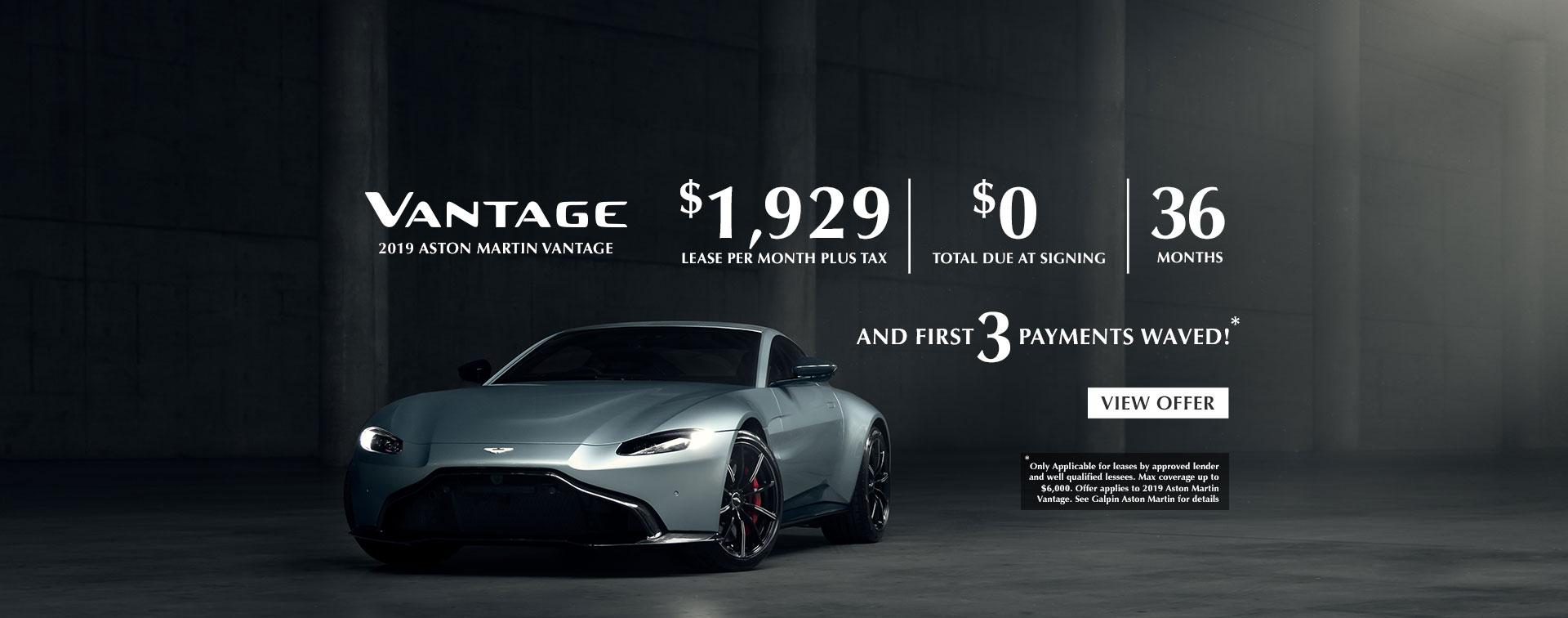 Galpin Aston Martin, Los Angeles Aston Martin Dealer, New V8 Vantage