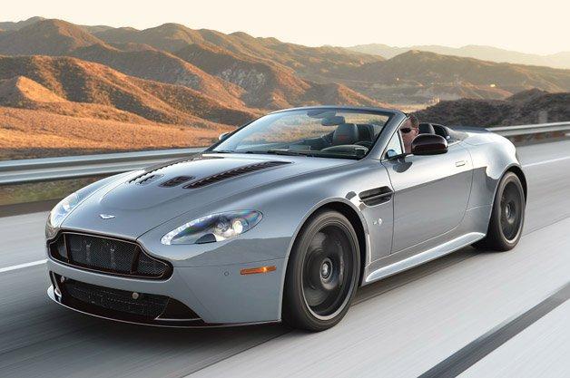 Aston Martin V Vantage S Roadster - Aston martin vantage v12