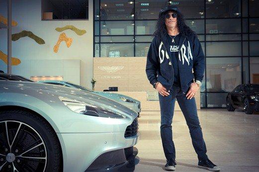 Slash With Aston Martin Vanquish - Galpin aston martin