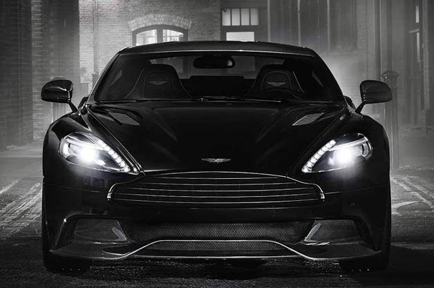 Aston Martin Blacks Out New Vanquish Carbon Edition - Black aston martin vanquish