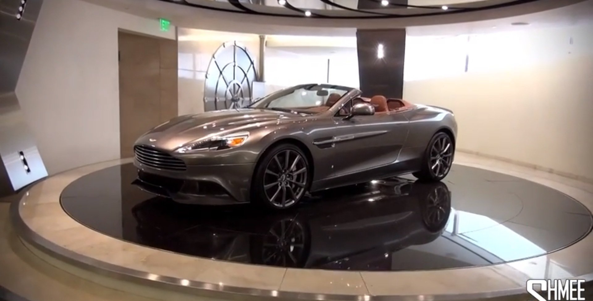 This Aston Martin Dealership Vault Is Very James Bond - Aston martin dealerships