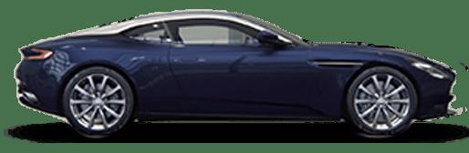 Dark Blue Aston Martin DB11 V8 Coupe