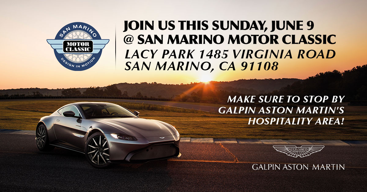 Galpin Aston Martin at San Marino Motor Classic