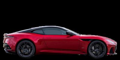 Red Aston Martin DBS Superlegerra