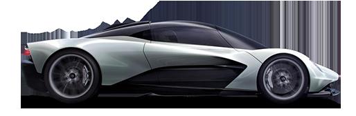 Silver Special Edition Aston Martin