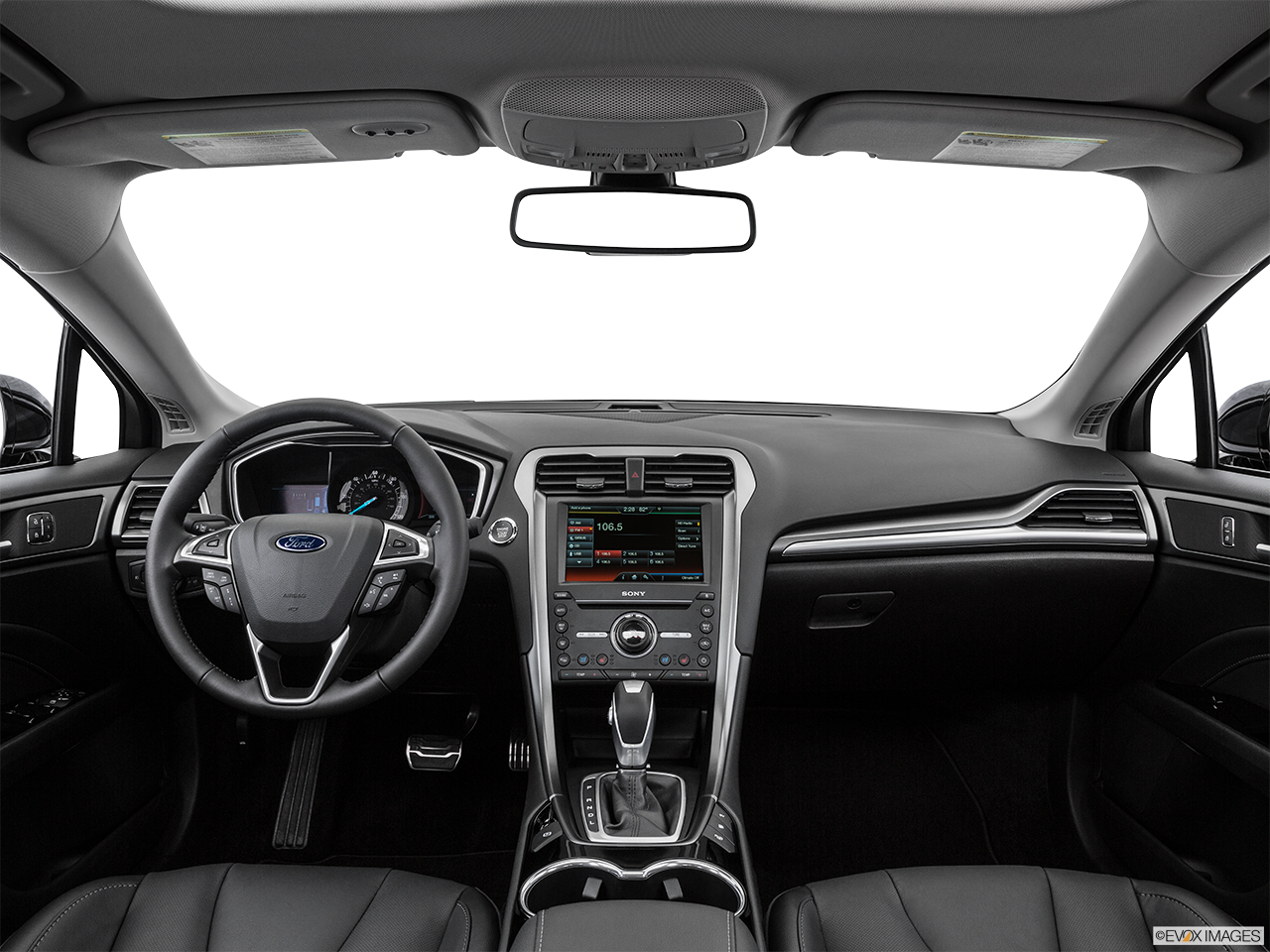 2016 Ford Fusion SE Energi Interior Overview
