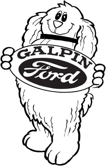 Galpin's Shaggy Dog Mascot
