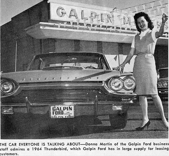 Vintage Ad for Galpin Ford