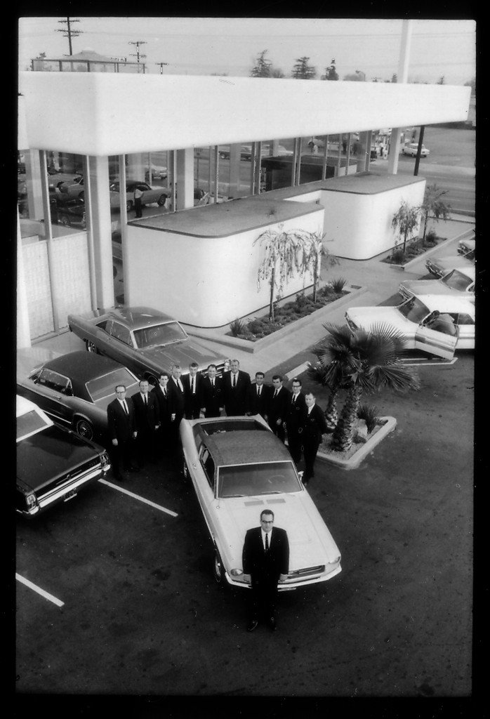 Bert & Sales Team at Galpin Ford