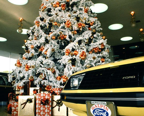 Galpin Ford's First Giant Christmas Tree