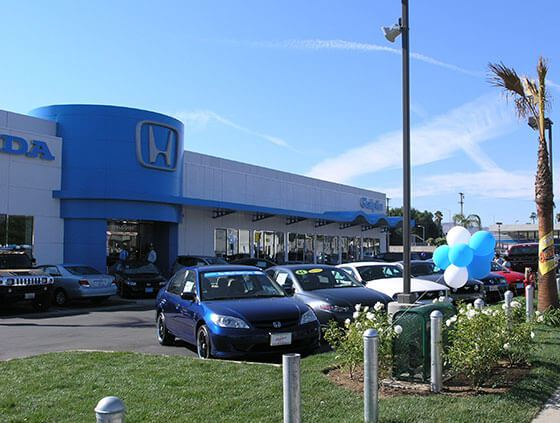 Galpin Honda Showroom at Mission Hills