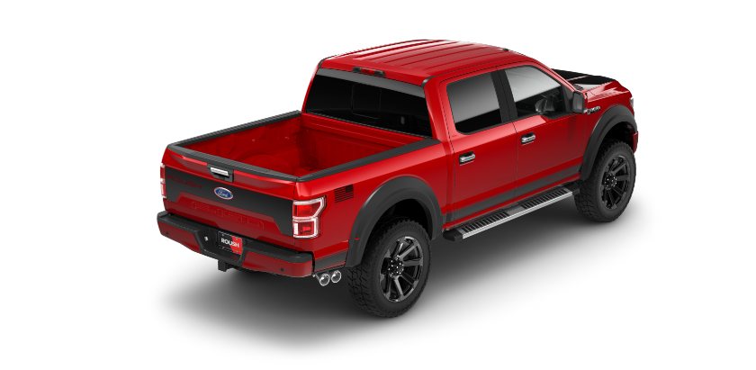 2018 Roush F-150 Off Road Rear Angle