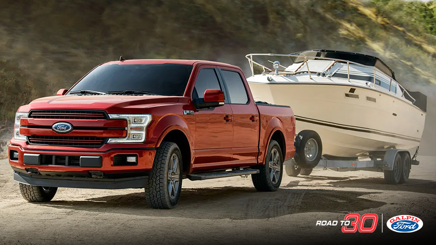 2019 red ford f-150