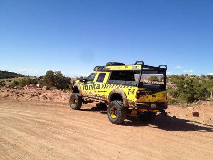 Ford-Tonka-Truck-on-Dirt-Road