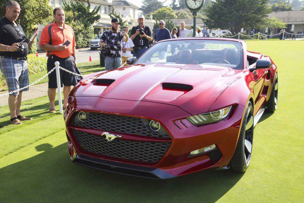 Galpin Ford Henrik Fisker Debut Rocket Speedster Concept At Pebble