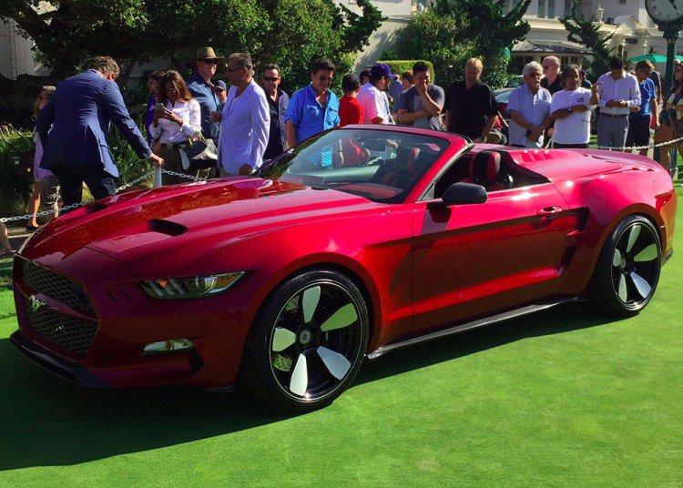 Ford Mustang Based 2015 Galpin Rocket Speedster Revealed