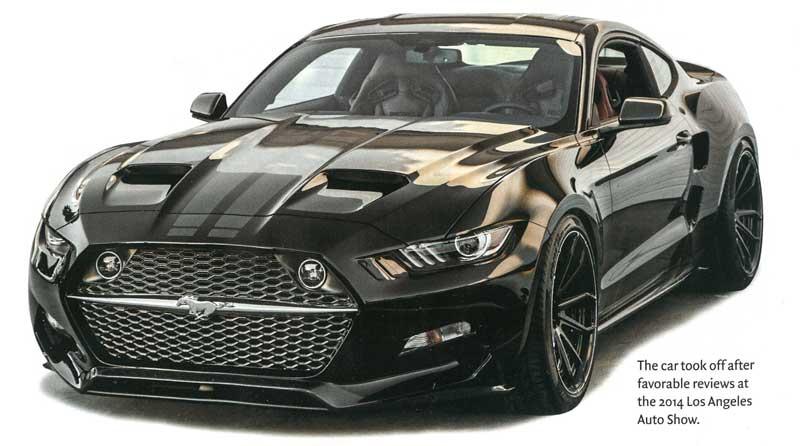 Carbon Fiber 'Rocket' Mustang