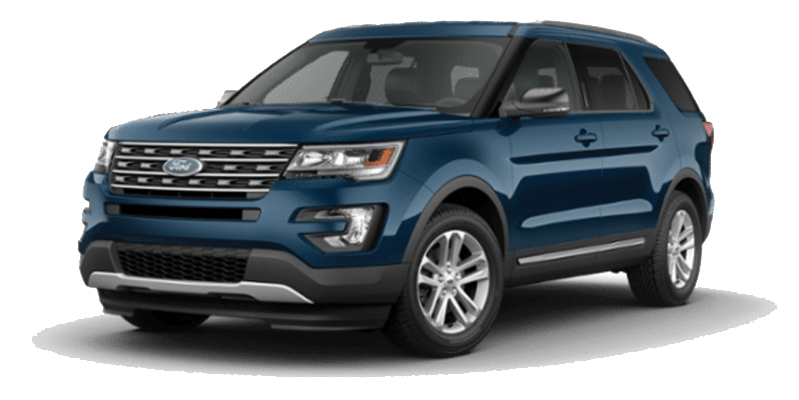 Ford Explorer Blue