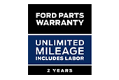 Ford Parts Warranty - 2 Years