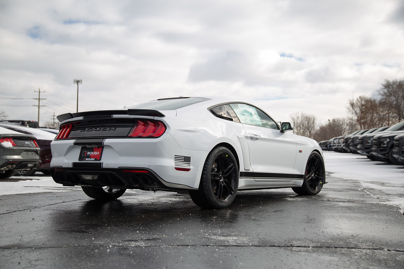 2018 Stage 2 Mustang Far Rear Angle