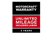 Motorcraft Warranty 2 Years