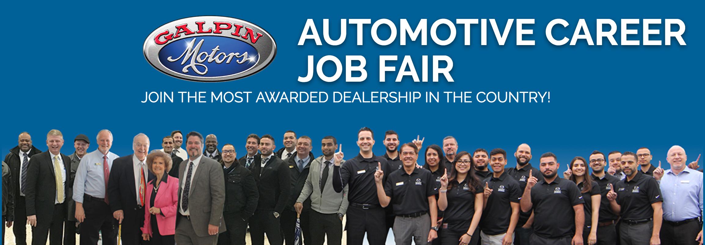 Galpin Automotive Career Job Fair