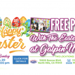Easter Bunny at Galpin Ford