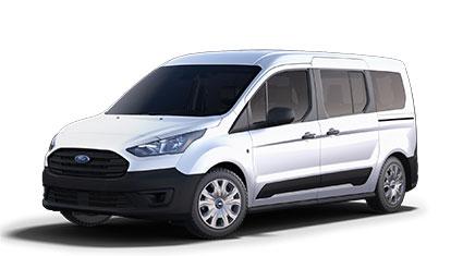 white Transit van